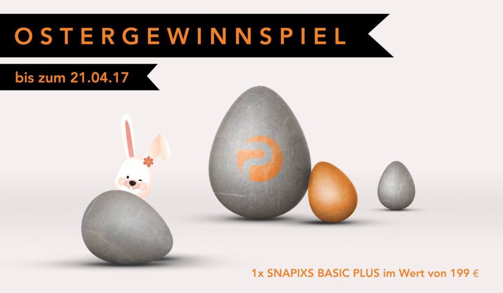 Ostergewinnspiel SNAPIXS | Die Fotobox zum Mieten im Emsland